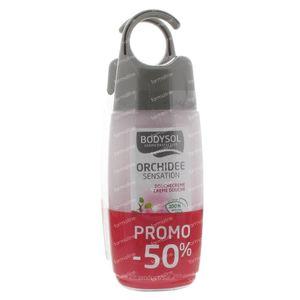 Bodysol Douche Orchidee + Douchecreme Promo Duopack Verlaagde Prijs 2 St
