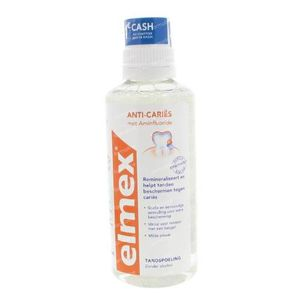 Elmex Dental Rinse Anti-Caries Promo Lowered Price 400 ml