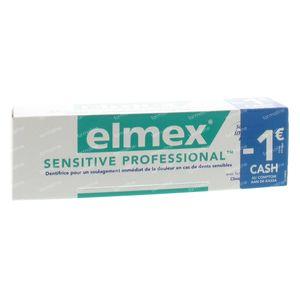 Elmex Sensitive Dentifrice Professionelle Promo Prix Réduit 75 ml