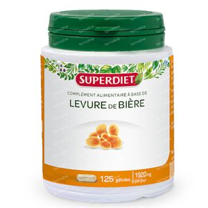 Super Diet Biergist 125 capsules