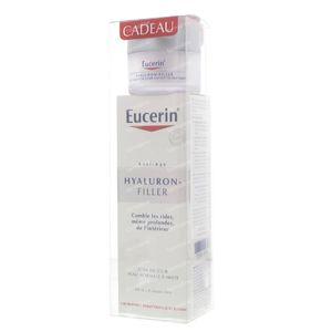 Eucerin Hyaluron-Filler Crème De Jour (Peau normale/Mixte) Avec Crème De Jour Gratuite (Peau Sèche) 50 + 20 ml Promo 70 ml