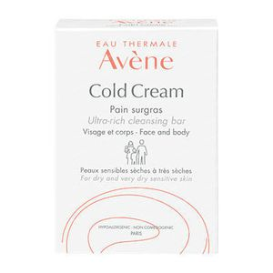 Avène Cold Cream Ultra Rich Soap-Free Cleansing Bar 100 g