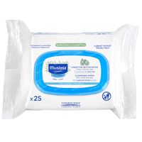 Mustela Baby Cleansing Wipes 25 st