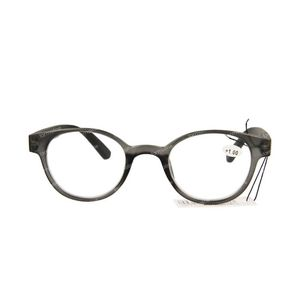 Pharmaglasses Reading Glasses Round Grey/Black +1 1 item
