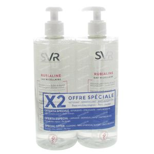 SVR Rubialine Micellair Water Duo 800 ml