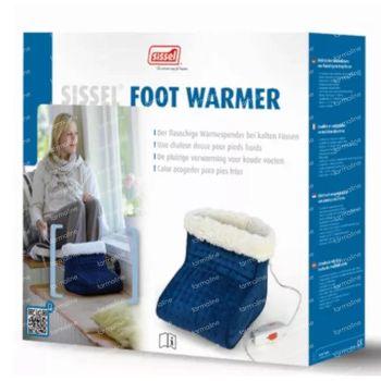 Sissel Footwarmer Elektrisch Cosy Fleece Blauw 1 stuk