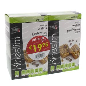 Kineslim Mocha Waffles Duo Lowered Price 12 pieces