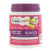 Teddy-Vit Acerola Beertjes 160 mg 50 st