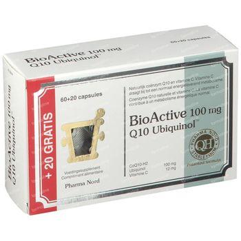 Pharma Nord BioActive Q10 100mg + 20 Capsules GRATUITES 60+20 capsules