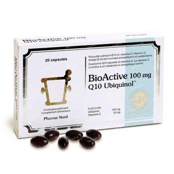 Pharma Nord BioActive 100mg Q10 Ubiquinol 20 capsules