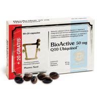 Pharma Nord BioActive Q10 50mg + 20 Capsules GRATUIT 60+20  capsules