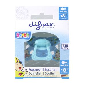 Difrax Natural Soother Bumba +18 Months 1 item