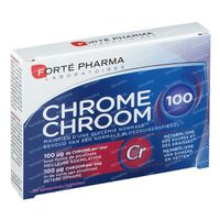 Forté Pharma Chrome 100 30  comprimés