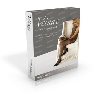 Veinax Panty Transparant Small Beige Size 5 1 item