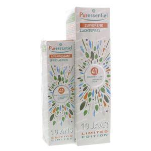 Puressentiel Luchtzuiverende Spray 41 Essentiële Oliën Duo 200+75 ml Spray