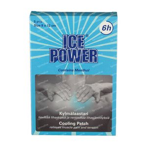 Ice Power Cooling Patch Menthol 5 stuks