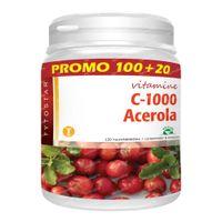 Fytostar Acerola C 1000 – Weerstand – Vegan - Vitamine C 120  kauwtabletten