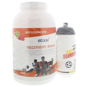 Etixx Recovery Shake Raspberry Kiwi + Drinking Bottle 1,50 kg