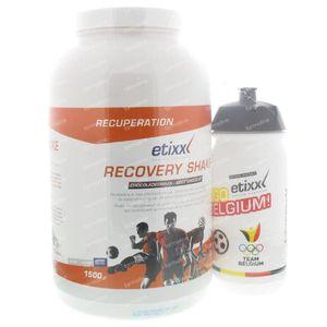 Etixx Recovery Shake Chocolate + Drinking Bottle 1500 g