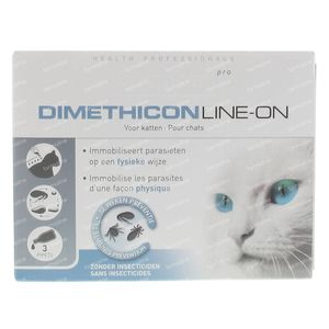 Beaphar Pro Dimethicon Line-On Chat Vétérinaire 3 ml