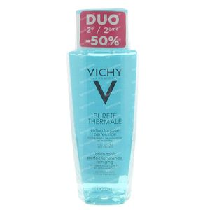 Vichy Purete Thermale Lotion Tonic Perfectionerende Reiniging Promo 400 ml