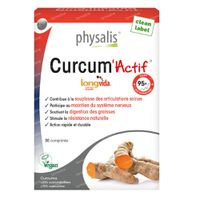 Physalis Curcum'Actif 30  comprimés