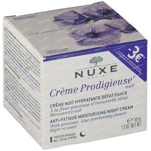 Nuxe Crème Prodigieuse Anti-Vermoeidheid Nachtcrème Promo Verlaagde Prijs 50 ml
