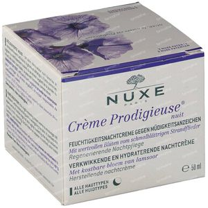 Nuxe Crème Prodigieuse Anti-Fatigue Moisturising Night Cream Promo Lowered Price 50 ml