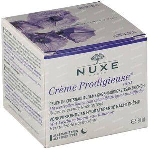 Nuxe Crème Prodigieuse Nuit Crème Hydratante Défatigante Promo Prix Réduit 50 ml