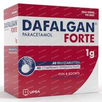 Dafalgan® Forte 1g 40  bruistabletten