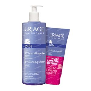 Uriage Première Eau + Baby Cleansing Oil For FREE 1000+200 ml