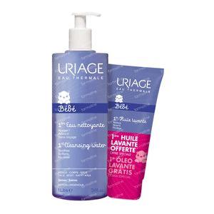 Uriage Première Eau + Bebè Olio Lavante GRATIS 1000+200 ml