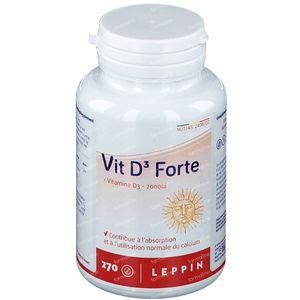 Leppin Vit D3 Forte 270 tabletten