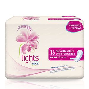 Tena Lights Ultra Towel Normal 76011302 16 pieces