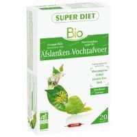 Superdiet Complexe Minceur Thé Vert - Reine des Prés - Fenoui - Bouleau Bio 20x15 ml