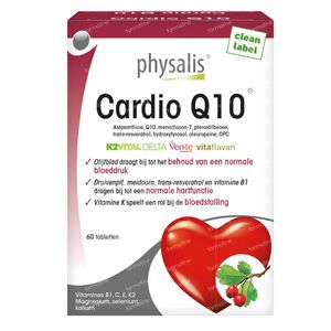 Physalis Cardio Q10 60 tabletten
