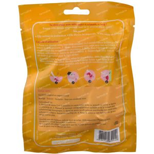 Lady Green Konjac Body Sponge Rose 1 item