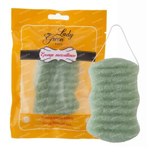 Lady Green Konjac Face Sponge Aloë Vera 1 item