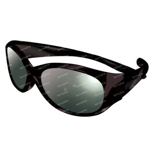 Sunglasses Vista Full Black 4-8j 1 item