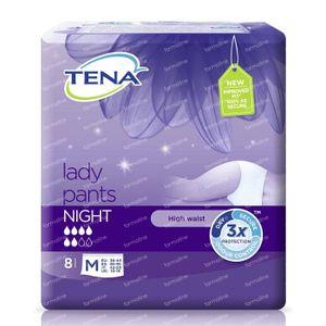 Tena Lady Pants Nacht M 797518 8 stuks