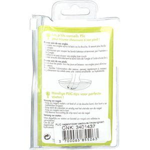 Plic Plic Coupe-Ongles Pédicure Vert Limon 1 pièce