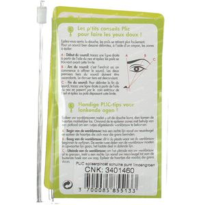 Plic Tweezers Oblique Lime Green 1 item