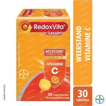 RedoxVita Vitamine C 500mg Weerstand 30 zuigtabletten