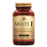 Solgar Multi I 60  tabletten