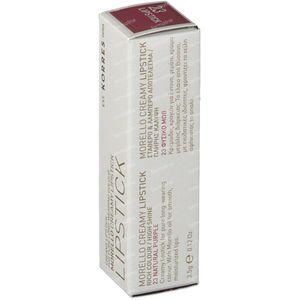 Korres Lipstick Morello Creamy Natur Purple 23 1 item