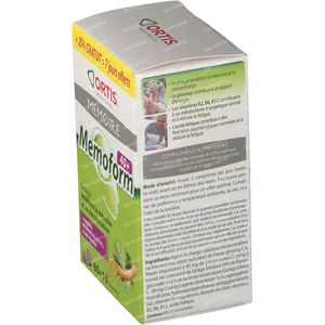 Ortis Memoform 40+ + 15 Tablets For FREE 60 + 15 St Tablets