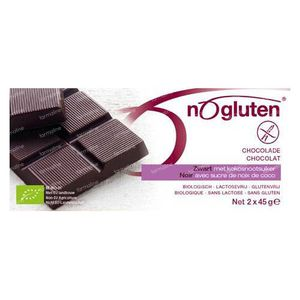 NoGluten Chocolate Bar Black Bio 90 g