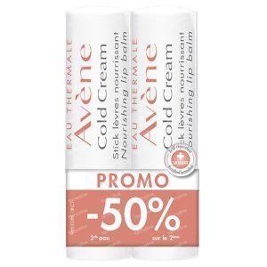 Avène Cold Cream Stick À Lèvres Duo 2ième À -50% 2x4 g