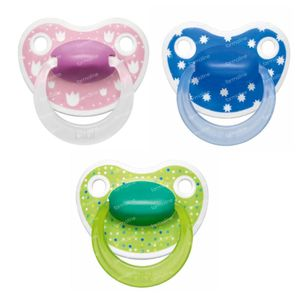 Bibi Pacifier Lovely Dots 6-16M 1 item