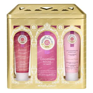 Roger & Gallet Gingembre Rouge Intense Coffret Cadeau 3x50 ml